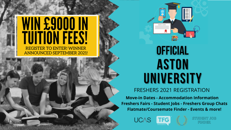 Aston University 2021 Freshers Guide. Sign up now for important freshers information! Aston University Freshers Week