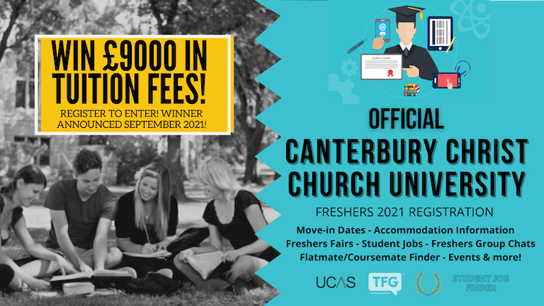 Canterbury Christ Church University 2021 Freshers Guide. Sign up now for important freshers information! Canterbury Christ Church University Freshers Week