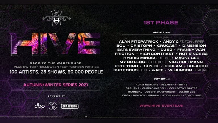 HIVE Phase 1 | On sale now!