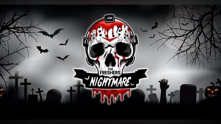 The Big Freshers Halloween Nightmare: CARDIFF - Last 50 Tickets