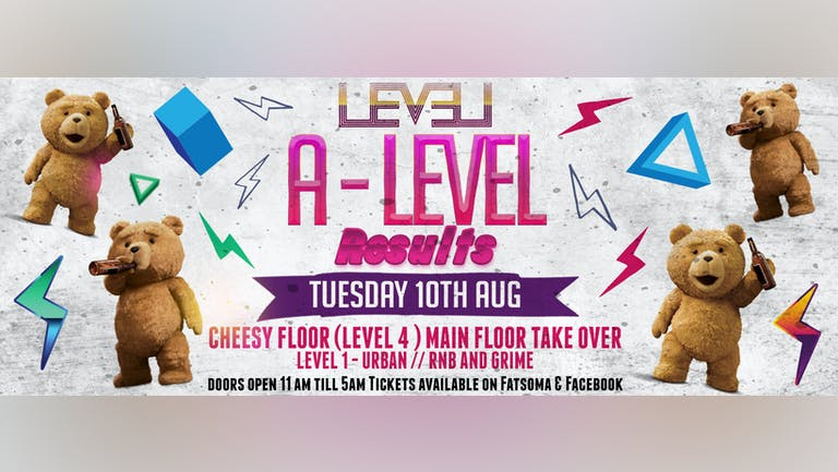 A Level Results Party - Cheesy Floor Takeover Tuesday Special