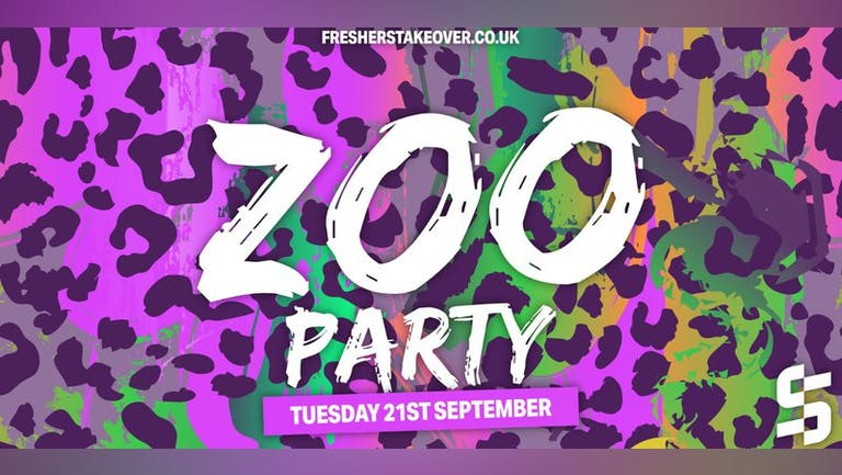 Sheffield Freshers Zoo Party
