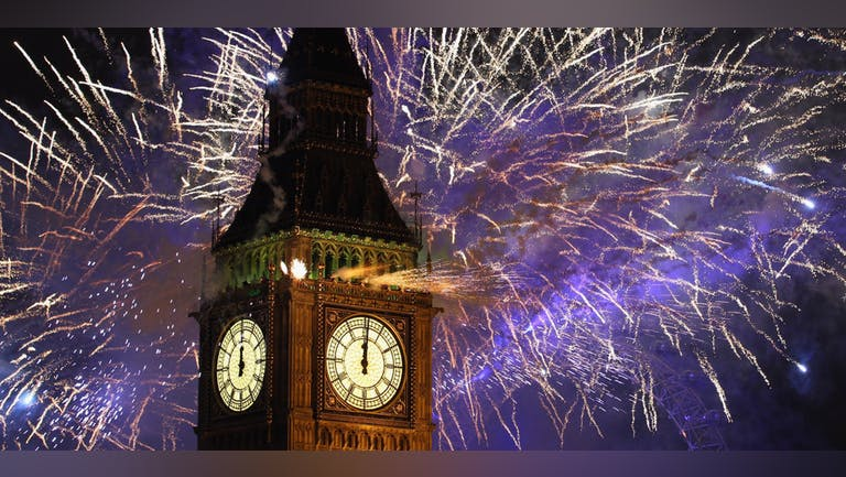 New Years Eve in London 2022 - December 31st 2021 : SIGN UP NOW!