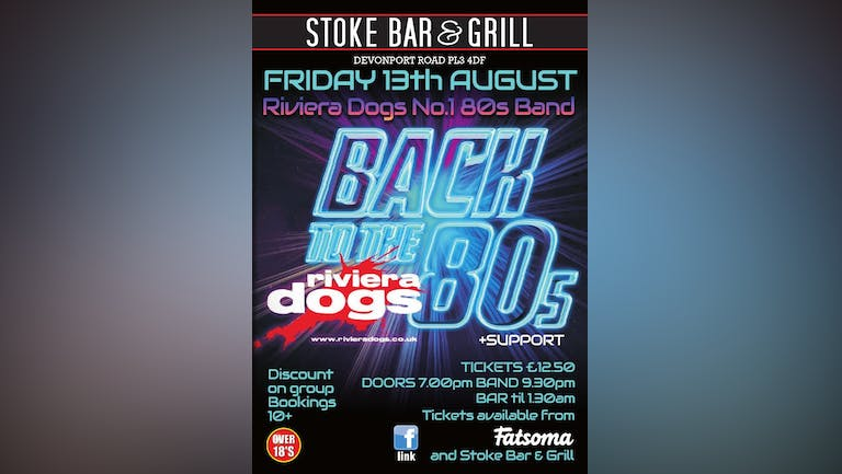 Riviera Dogs 80s Tribute Band