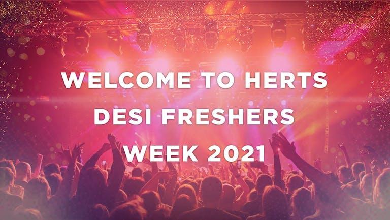 HERTFORDSHIRE UNIVERSITY (HERTS) - DESI FRESHERS WEEK 2021