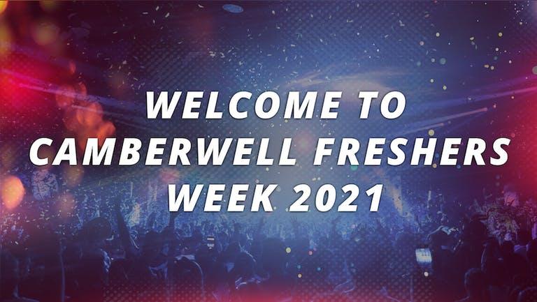 CAMBERWELL UNIVERSITY - FRESHERS WEEK 2021