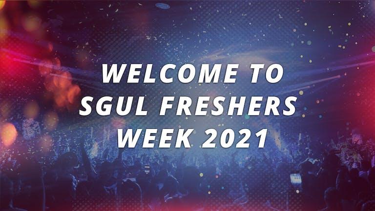 ST GEORGE'S UNIVERSITY LONDON (SGUL) - FRESHERS WEEK 2021