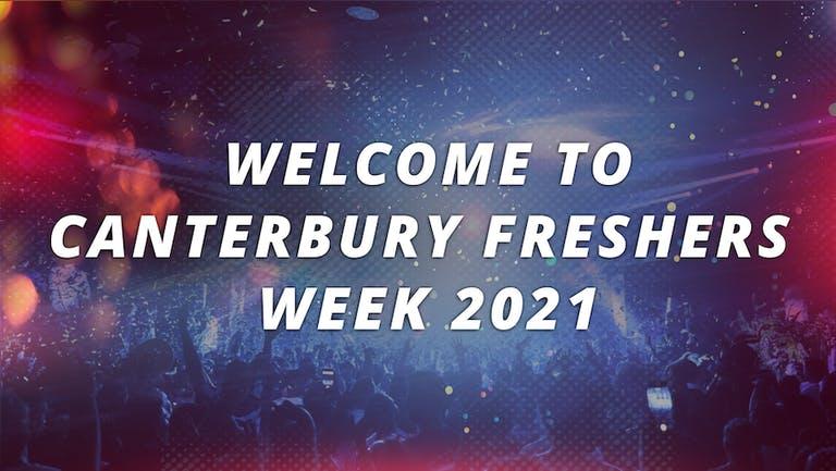 CANTERBURY FRESHERS WEEK 2021