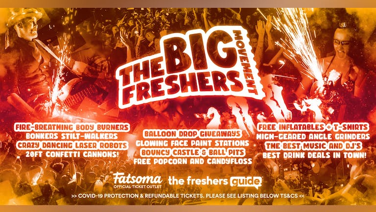 The Big Freshers Movement Falmouth 2021 🎉