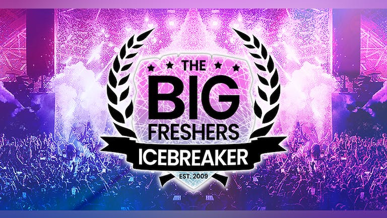 The Big Freshers Icebreaker : BOURNEMOUTH - TONIGHT!! : LAST CHANCE TO BOOK TICKETS