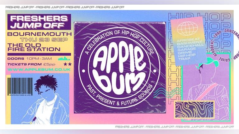 Applebum / Bournemouth / Freshers Jump Off