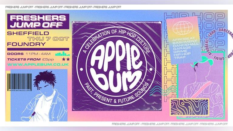 Applebum / Sheffield / Freshers Jump Off