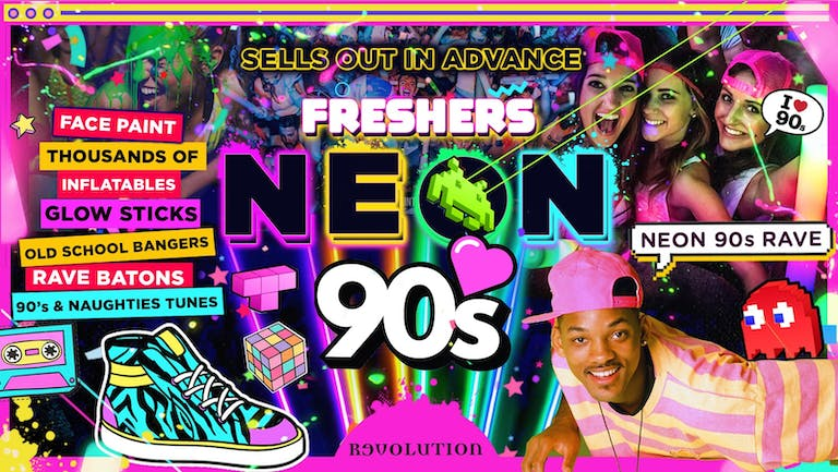 OXFORD FRESHERS NEON 90's PARTY!