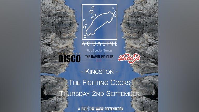 Aqualine at The Fighting Cocks, Kingston