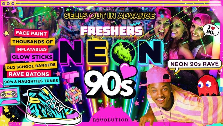BRIGHTON FRESHERS NEON 90's PARTY!