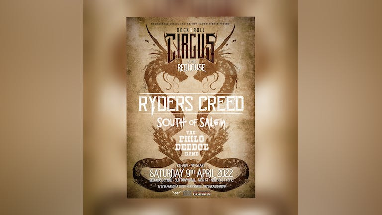 The Rock & Roll Circus Events at The Redhouse.