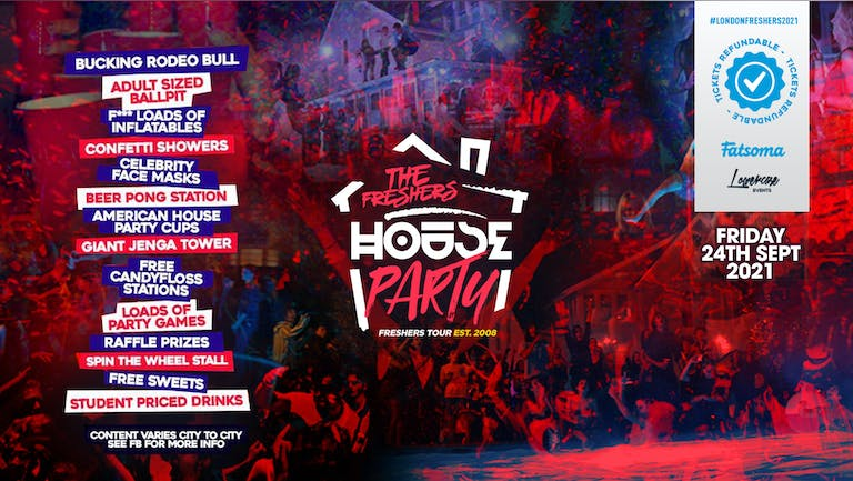 ⚠️TONIGHT - LAST 50 TICKETS⚠️ - THE 2021 PROJECT X HOUSE PARTY AT STUDIO 338! // FRESHERS WEEK 1 DAY 6