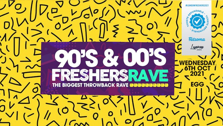 THE 90S & 00S FRESHERS RAVE - THE BIGGEST THROWBACK RAVE! // FRESHERS WEEK 3 DAY 3