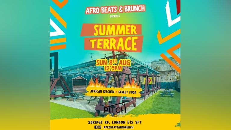 Afrobeats n Brunch Summer Terrace Party