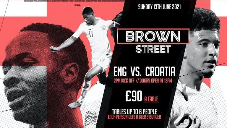 England vs. Croatia (Indoor Screening)
