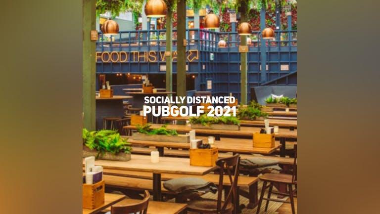 Socially Distanced PubGolf 2021