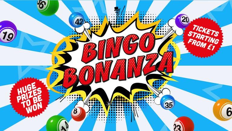 BINGO BONANZA | TUESDAY 10pm - 3am | PERDU | 13th July