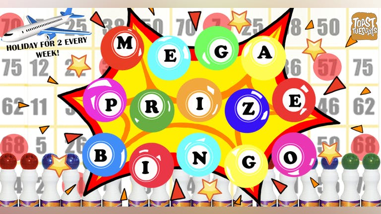 [SOLD OUT] - MEGA PRIZE BINGO | Book Your Table Right Away!