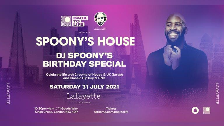 Spoony's House The Return (DJ Spoony's Birthday Special)