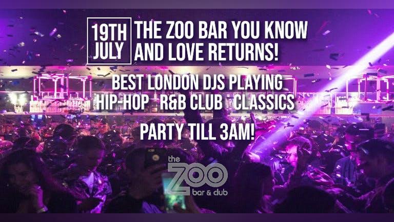 Zoo Bar Returns!