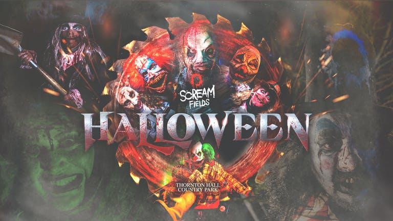 Scream Fields Fear Park Entry Ticket - Thursday 21st October