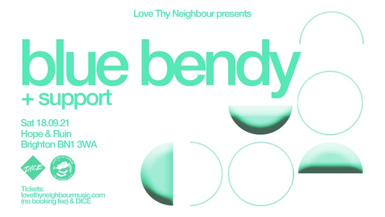 Blue Bendy + Support