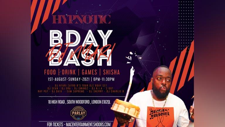 HYPNOTIC  DJ NYARI'S BIRTHDAY BASH