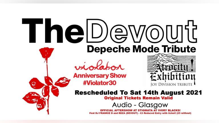 Depeche Mode Tribute Act- The Devout + Atrocity Exhibition
