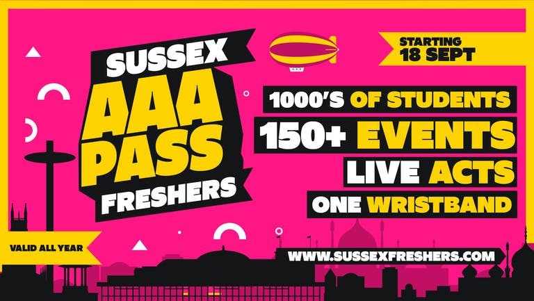 AAA Pass Sussex 2021 (Sussex Events Bundle)