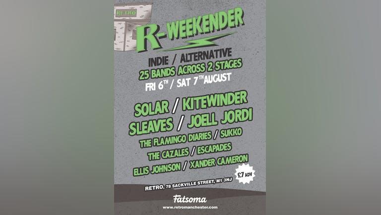 Indie/Alternative R-Weekender 2021