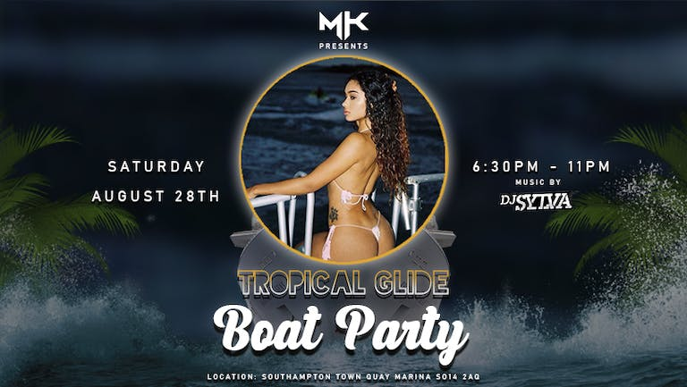 Tropical Glide Boat Party