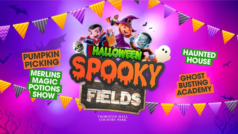 Spooky Fields (including Farm Park Entry) - Monday 25th October - All Day Ticket