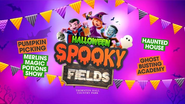 Spooky Fields (including Farm Park Entry) - Thursday 28th October - All Day Ticket