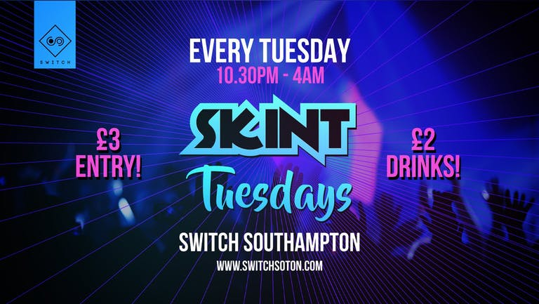 Skint Tuesday Launch Party • 20th July