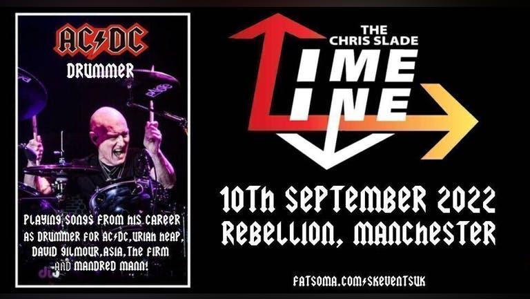 The Chris Slade Timeline (AC/DC) - Rebellion, Manchester