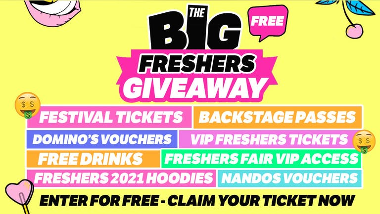 Birmingham - Big Freshers Giveaway - Enter Now!