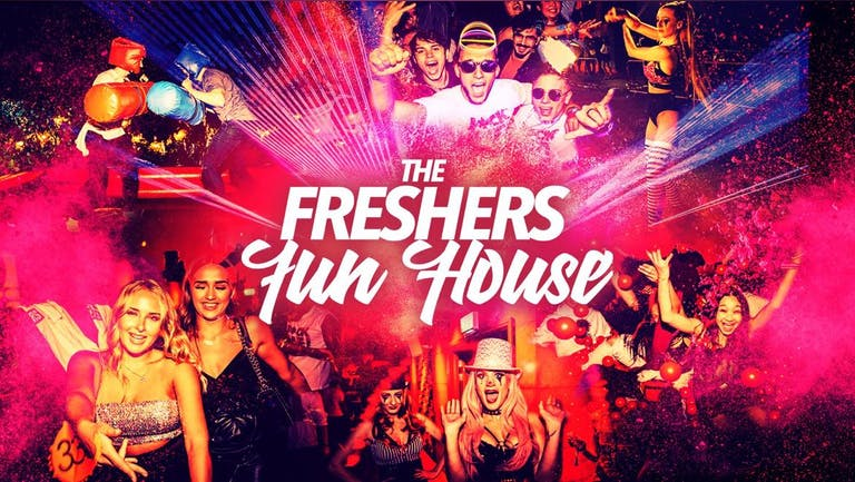 The Freshers Fun House | Plymouth Freshers 2021