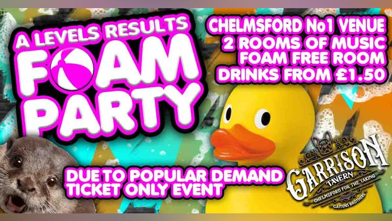 A Levels Foam Party Festival 2021