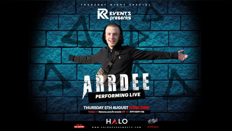 KR EVENTS Presents: Arrdee Live!