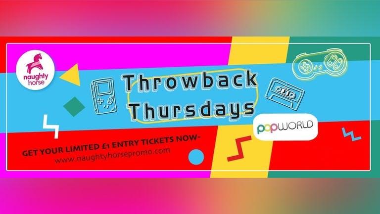 Throwback Thursdays - Popworld!