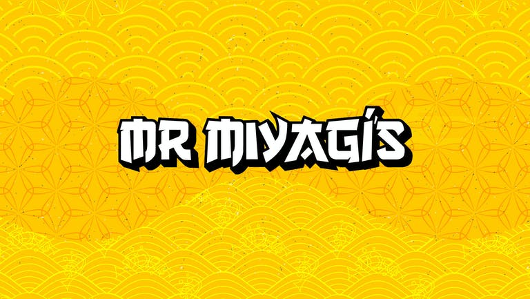 Miyagis Saturdays, Funtime DJs, cocktails, beer pong, good times!