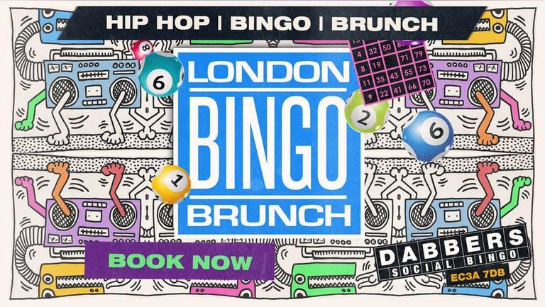London's Hip Hop Bingo & Brunch: All Day Hip Hop Party & Bingo Brunch Party!