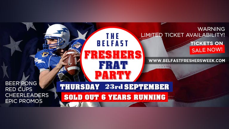 Official Belfast Freshers Closing : Frat Party 2021-  This event is taking place Monday 22nd November at  Bot Nightclub.