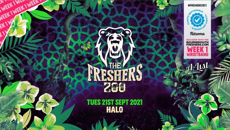 [TONIGHT] The Freshers Zoo @ Halo - FINAL 100 £5 TICKETS  | Bournemouth Freshers 2021 [Week 1 Freshers Event]