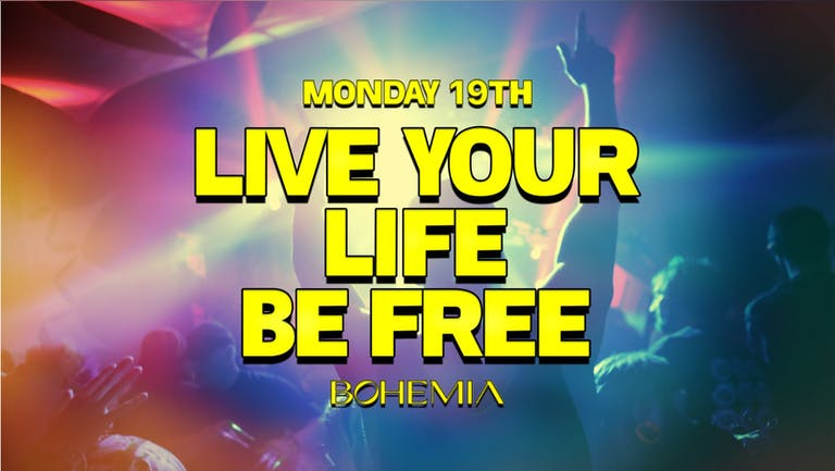 LIVE YOUR LIFE BE FREE | THE LANE (NEW PERDU) | 19th JULY